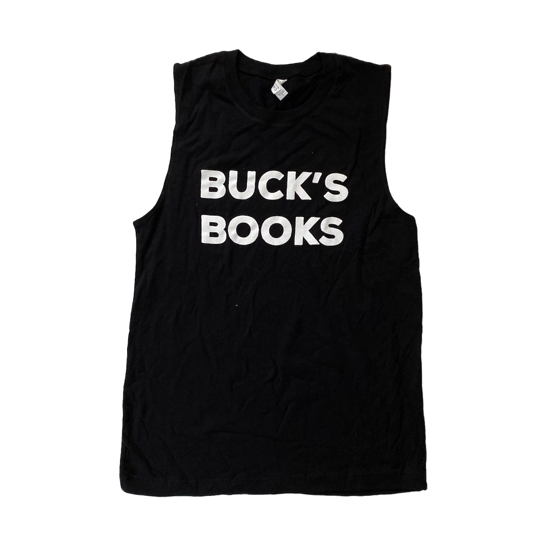 Buck's Books Muscle Tee
