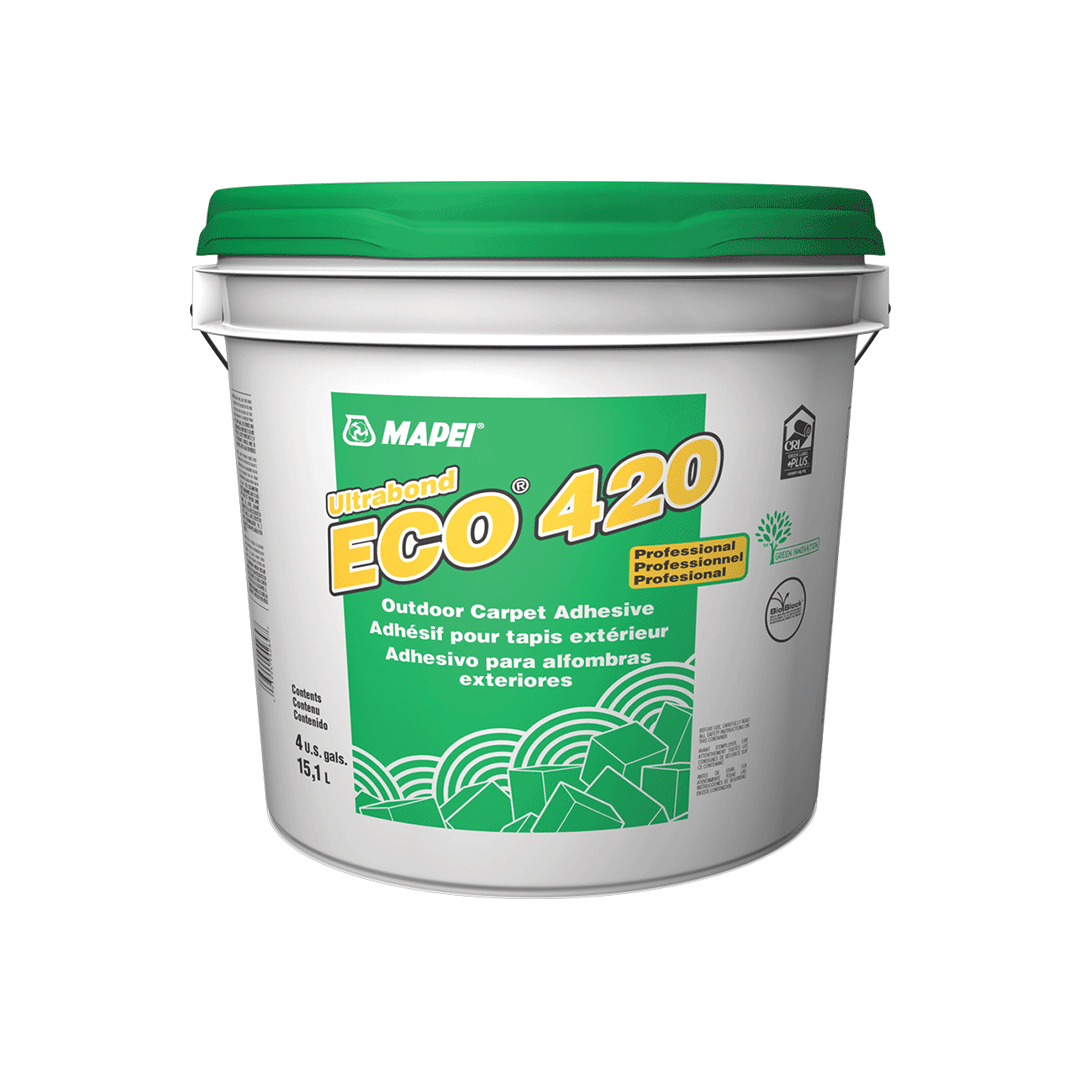 Mapei Ultrabond ECO 420 - 4 Gallon Indoor/Outdoor Carpet Adhesive
