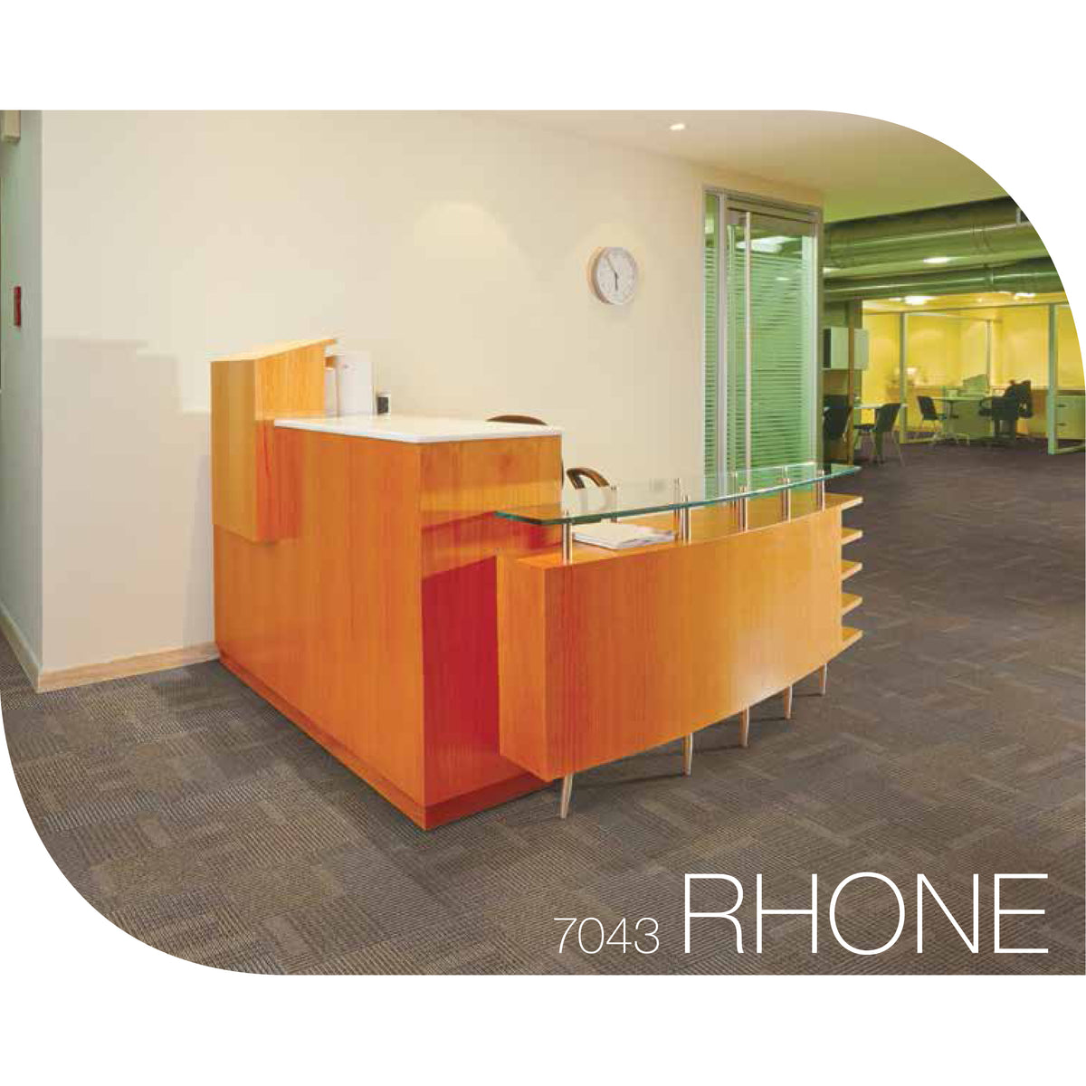 Kraus - Rhone - Carpet Tile - Coffee