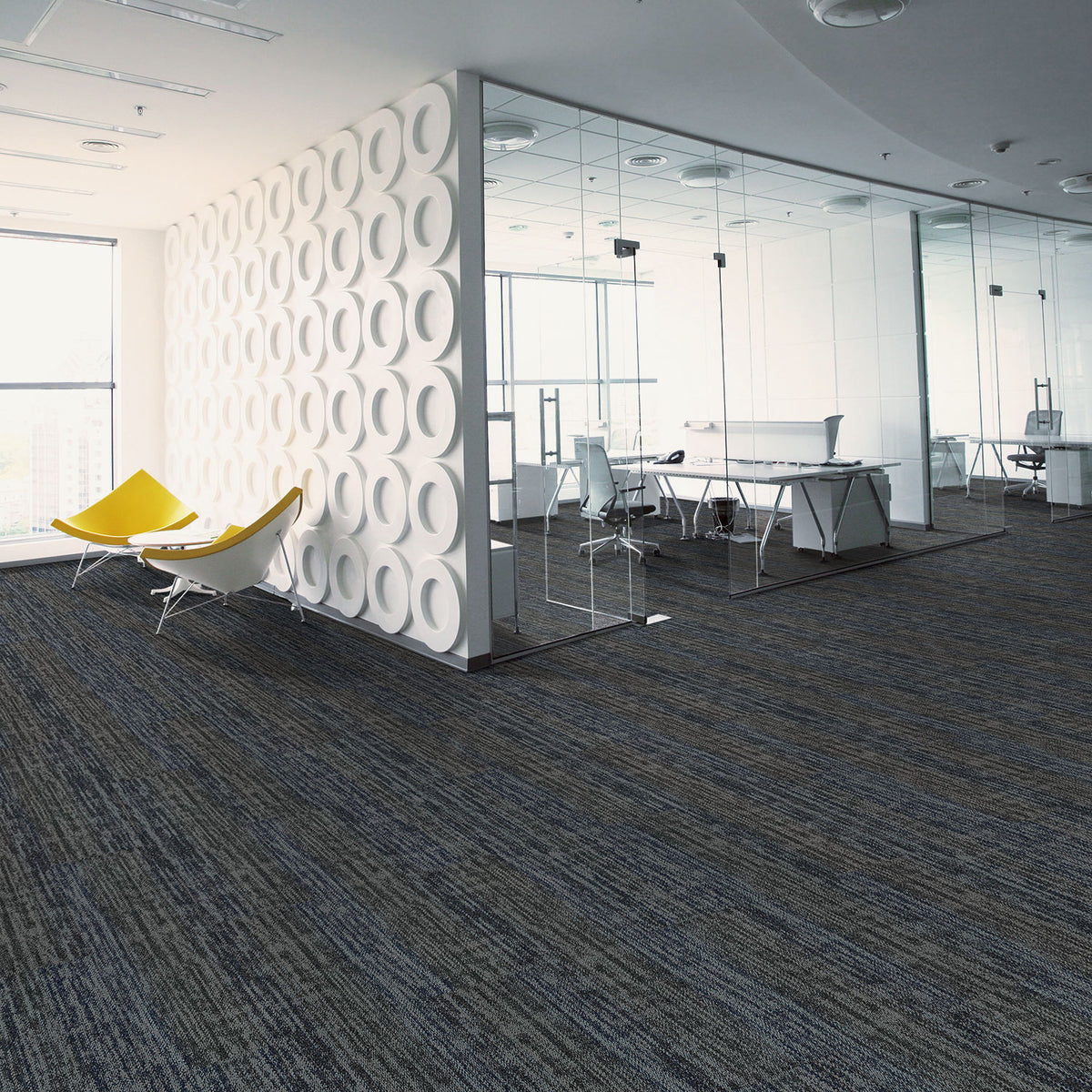 Kraus - Skyline- Carpet Tile - Atmosphere