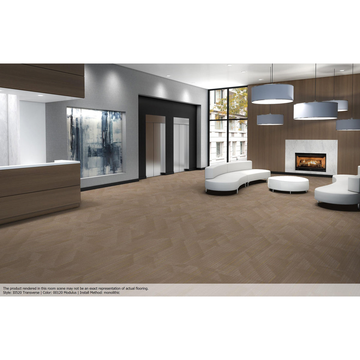 Patcraft - Infrastructure Collection - Transverse Carpet Tile - Modulus