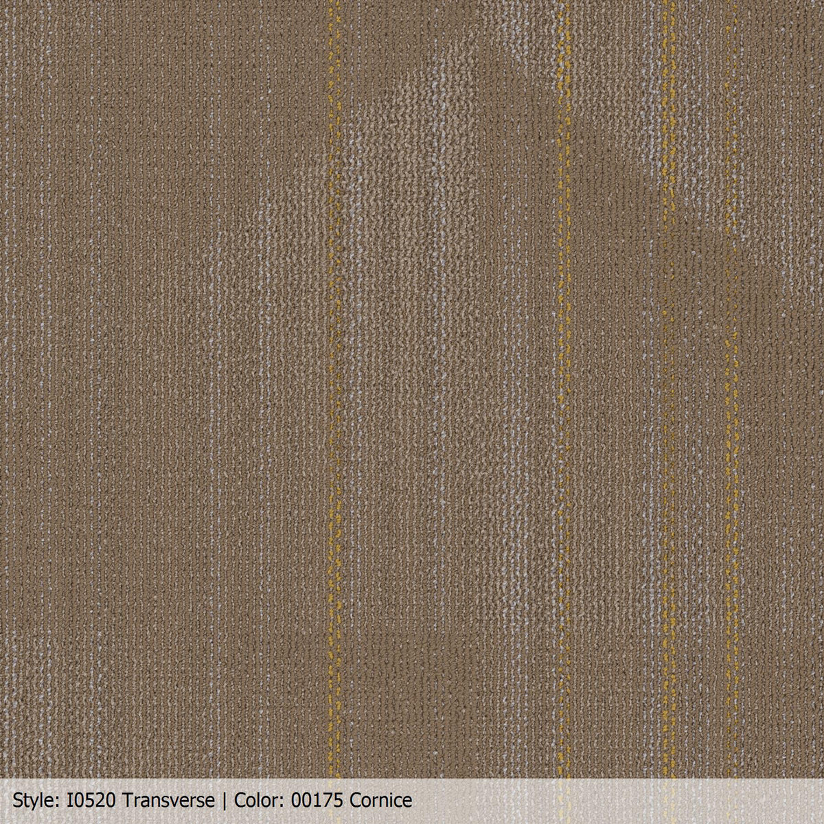 Patcraft - Infrastructure Collection - Transverse Carpet Tile - Cornice