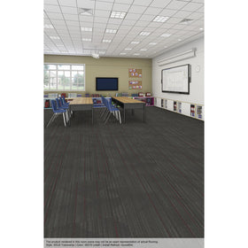 Patcraft - Infrastructure Collection - Transverse Carpet Tile - Lintell