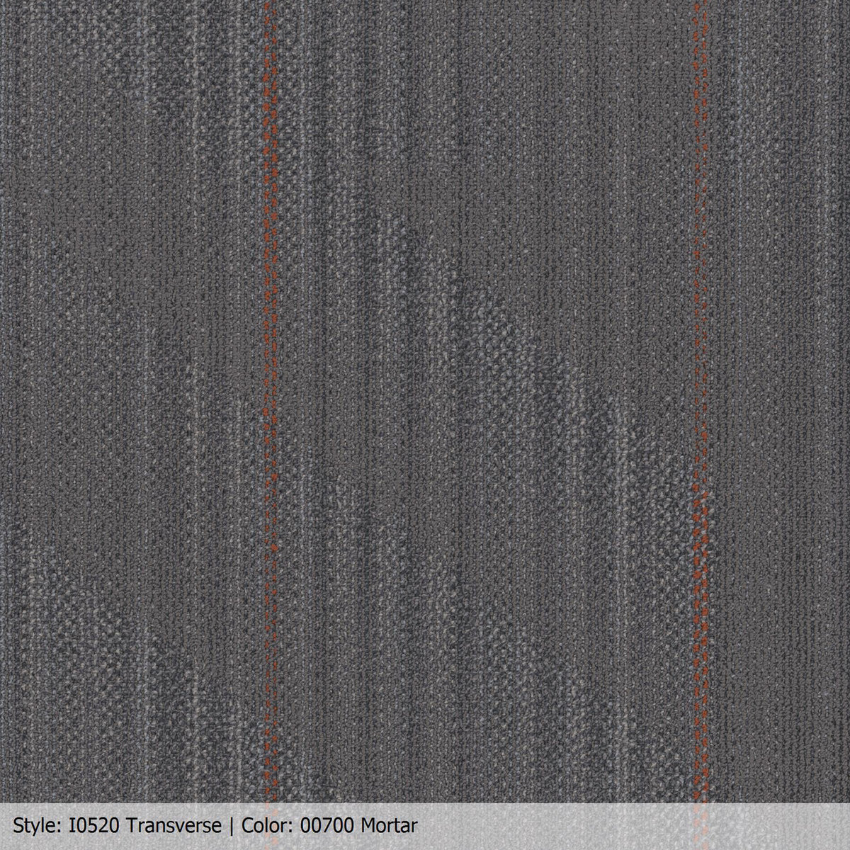 Patcraft - Infrastructure Collection - Transverse Carpet Tile - Mortar