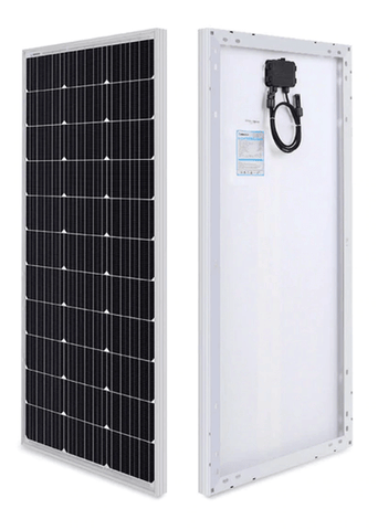100 Watt 12V Monocrystalline Solar Panel (Compact Design) + Free Shipping! - Shop Solar Kits