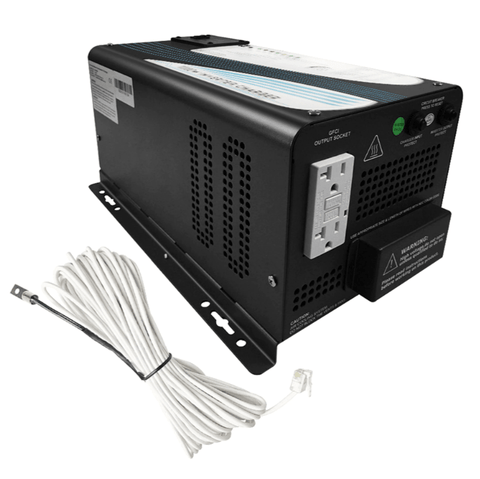 Image of 1000W Pure Sine Wave Inverter Charger | RNG-INVT-1000-12V-C + Free Shipping - Shop Solar Kits