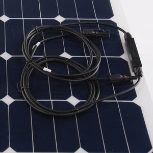 130 Watt Flexible Solar Panel | High-Efficiency Monocrystalline SSK-130W-FLEX AIMS power