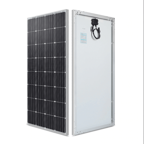 Image of 160 Watt 12 Volt Monocrystalline Solar Panel | RNG-160D-SS + Free Shipping - Shop Solar Kits