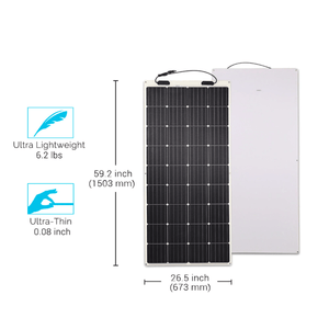 175 Watt Flexible Solar Panel | 12 Volt Mono + Free Shipping! - Shop Solar Kits