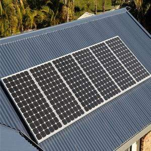 Image of 2 x 100 Watt Solar Panels - 12V Mono 2SG-100WM Sungold