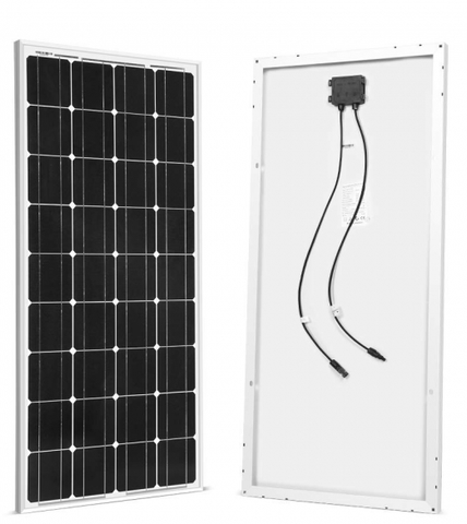 Image of 2 x 100w Solar Panels - 12V Monocrystalline + Free shipping & No Sales Tax - Shop Solar Kits