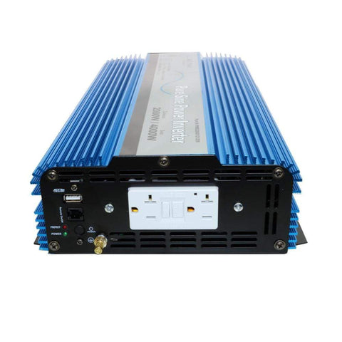 Image of 2000 Watt Pure Sine Wave Inverter ETL Listed to UL 458 PWRI200012120S AIMS power