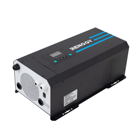 3000W 12V Pure Sine Wave Inverter Charger w/ LCD Display | R-INVT-PCL1-30111S + Free Shipping - Shop Solar Kits