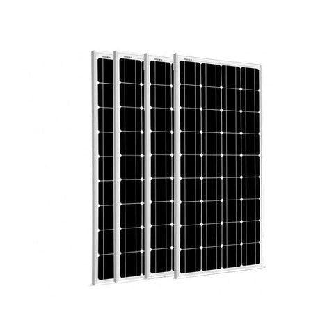 Image of 4 x 100 Watt Solar Panels - 12V Mono | 400 Watts + Free shipping & No Sales Tax - Shop Solar Kits
