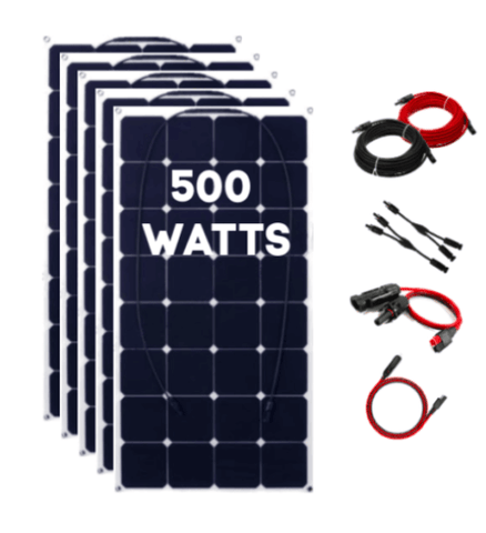500 Watt Solar Expansion Kit for Titan Solar Generator - Shop Solar Kits
