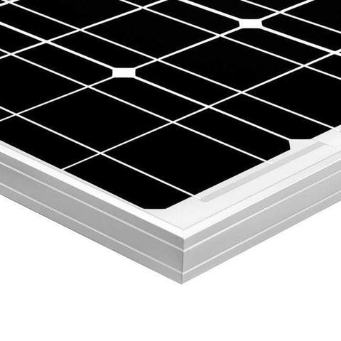 Image of 60 Watt Solar Panel 12V Monocrystalline + Free Shipping! - Shop Solar Kits