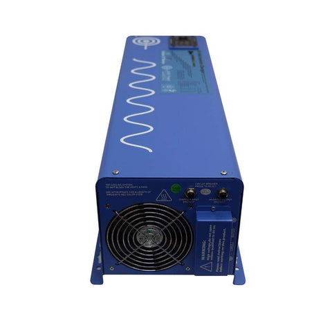 Image of 6000 Watt Pure Sine Inverter Charger 24Vdc / 240Vac Input & 120/240Vac Split Phase Output + Free Shipping - Shop Solar Kits