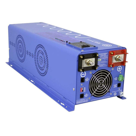 6000 Watt Pure Sine Inverter Charger 24Vdc / 240Vac Input & 120/240Vac Split Phase Output + Free Shipping - Shop Solar Kits