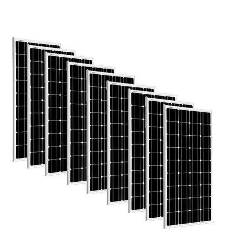 9 x 100 Watt Solar Panels - 12V Mono | 900 Watts + Free shipping & No Sales Tax 9SG-100WM Sungold