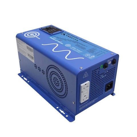 Image of AIMS 1,000 Watt Pure Sine Inverter Charger 12 VDC To 120 VAC - PICOGLF10W12V120VR + Free Shipping! - Shop Solar Kits