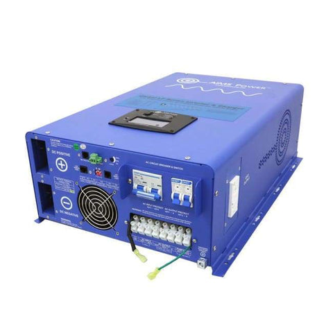AIMS Power 10,000 Watt Pure Sine Inverter Charger PICOGLF10KW48V240VS + Free Shipping & No Sales Tax - Shop Solar Kits
