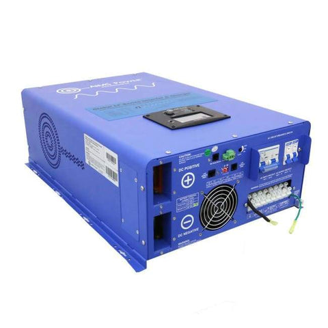 Image of AIMS Power 10,000 Watt Pure Sine Inverter Charger PICOGLF10KW48V240VS + Free Shipping & No Sales Tax - Shop Solar Kits