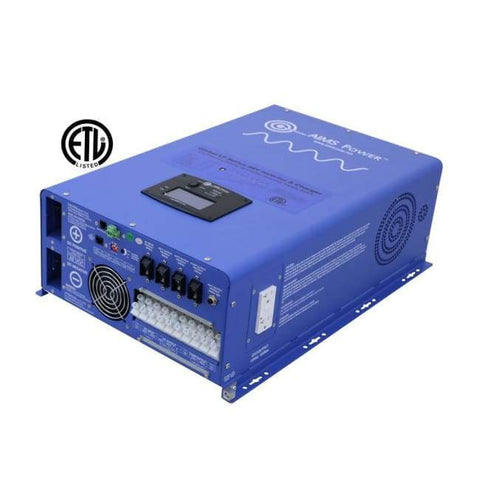 AIMS 12,000 Watt Pure Sine Inverter Charger PICOGLF120W48V240VS + Free Shipping! - Shop Solar Kits