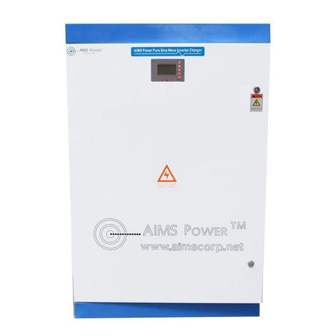 AIMS - 30KW Pure Sine Wave Inverter Charger - 300 VDC | 208 VAC 3 Phase - PICOGLF30KW300V2083P - Shop Solar Kits