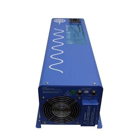 Image of AIMS 4,000 Watt Pure Sine Inverter Charger 12V/120V PICOGLF40W12V120V + Free Shipping - Shop Solar Kits