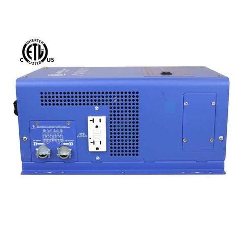 Image of AIMS Power 3000 Watt 12V Pure Sine Inverter Charger UL Listed ETL Certified PICOGLF30W12V120V AIMS power