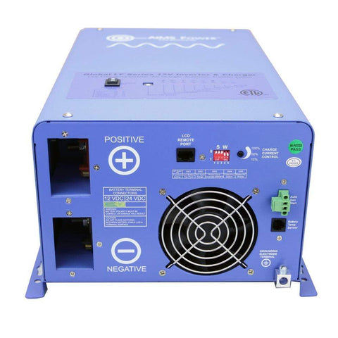 AIMS Power 3000 Watt 12V Pure Sine Inverter Charger UL Listed ETL Certified PICOGLF30W12V120V AIMS power