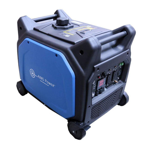 Image of AIMS Power 6600 Watt 120/240V AC Portable Pure Sine Inverter Generator | GEN6600W240VS - Shop Solar Kits