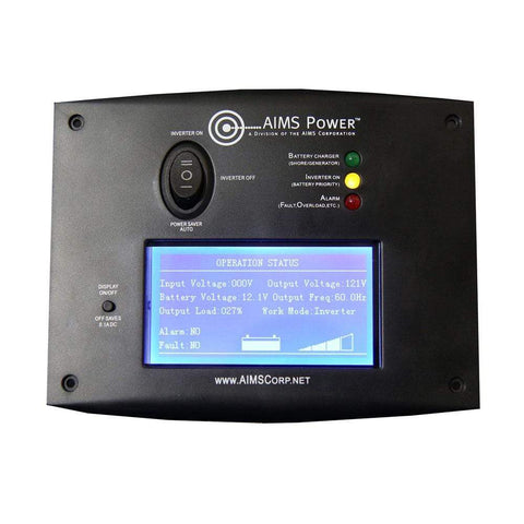 Image of AIMS Power LCD Remote Panel - Shop Solar Kits