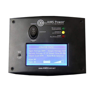 AIMS Power LCD Remote Panel - Shop Solar Kits