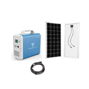 Bluetti EB150 Solar Generator Kit + 1 x 100 Watt Solar Panel | EB150-100-KIT + Free Shipping & No Sales Tax - Shop Solar Kits