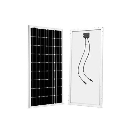 Image of Bluetti EB150 Solar Generator Kit + 2 x 100 Watt Solar Panel | EB150-200-KIT + Free Shipping & No Sales Tax - Shop Solar Kits