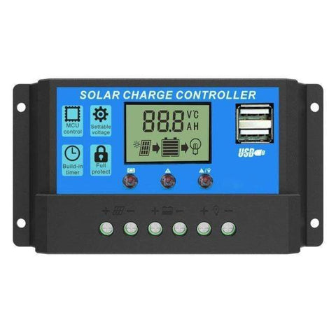 SGP 200 Watt Solar Kit - 20A PWM Charge Controller + Free Shipping & NO Sales Tax - Shop Solar Kits