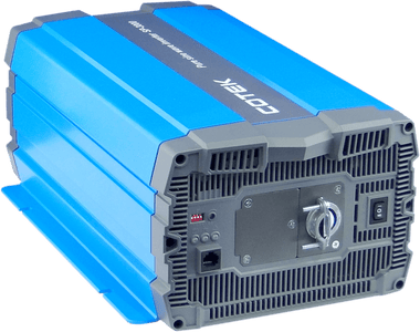 COTEK - 3000W, 24VDC -> 115VAC, H.F. Pure Sine Wave inverter Hardwire | SP3000-124 - Shop Solar Kits