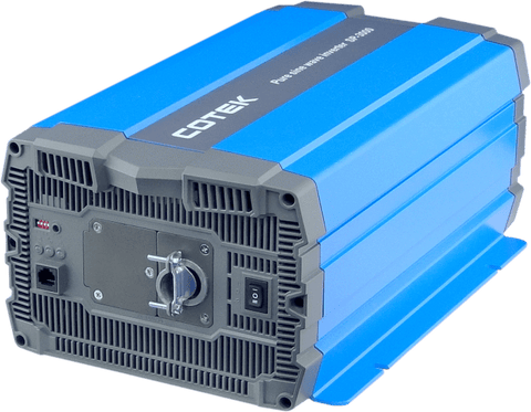 Image of COTEK - 3000W, 24VDC -> 115VAC, H.F. Pure Sine Wave inverter Hardwire | SP3000-124 - Shop Solar Kits