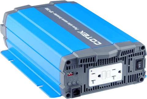 Image of COTEK 700W, 24VDC -> 115VAC, H.F. Pure Sine Wave Inverter | SP700-124-1 SP700-124-1 Cotek