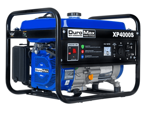 Image of DuroMax XP4000S 4000-Watt 7-Hp Air Cooled OHV Gas Engine Portable RV Generator | XP4000S + Free Shipping - Shop Solar Kits