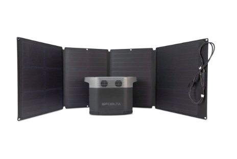EcoFlow 110 Watt Portable & Foldable Solar Panel + Free Shipping & No Sales Tax! EF T110 EcoFlow