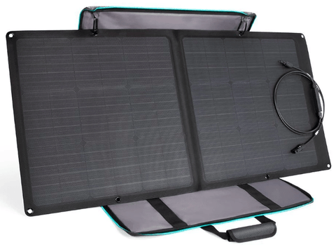 Image of EcoFlow 85 Watt Portable & Flexible Solar Panel w/ Kickstand + Free Shipping - 85WECOSOLAR - Shop Solar Kits