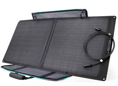EcoFlow 85 Watt Portable & Flexible Solar Panel w/ Kickstand + Free Shipping - 85WECOSOLAR - Shop Solar Kits