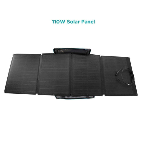 EcoFlow Delta 1800W / 1300wH + 4 x 110 Watt Flexible Solar Panels | Generator Kit | Free Shipping, No Sales Tax & Free After-Sale Support - Shop Solar Kits
