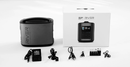 Image of EcoFlow Delta 1300wH / 1800W + River 370 Portable Power Station + 110W Solar Panel DELTARIVER110 EcoFlow
