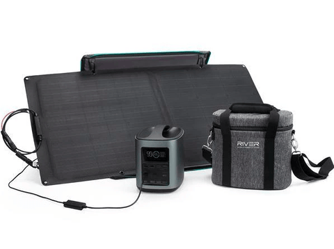 EcoFlow River 370 Energy Bundle + 85 watt solar panel w/ Free Shipping - Shop Solar Kits