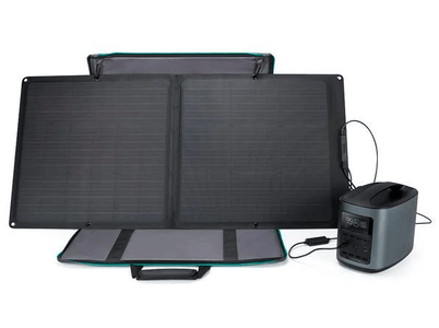EcoFlow River 370 Energy Bundle + 85 watt solar panel + Free Shipping - Shop Solar Kits