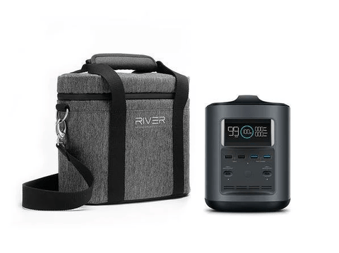 EcoFlow River 370 Travel Bundle w/ Protective Case & Chargers + Free Shipping - Shop Solar Kits