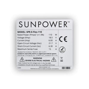 ExpertPower Alpha 400 + 110W SunPower Solar Panel Kit + Free Shipping, NO Sales Tax & Free After-Sale Support - Shop Solar Kits